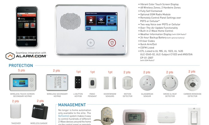 Midwest Protect - Los Angeles: Up to 94% Off Home Security and Monitoring  at Midwest Protect