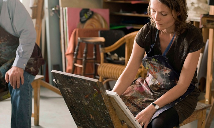 Picasso's Corner - Picasso's Corner: BYOB Painting Class for One, Two, or Four Adults at Picasso's Corner (Up to 47% Off)