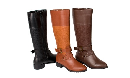 Relent Marlee Women's Riding Boots. Multiple Colors Available.