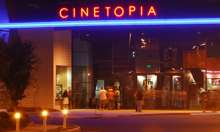 Cinetopia - Millplain 8: $16.95 for a Movie Night for Two with One Drink Credit at Cinetopia (Up to $42 Value)