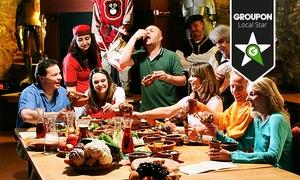 Kauzenburg: Großes Gelage an der Rittertafel mit 7 Gängen für 1 oder 2 Personen inkl. Getränken auf der Kauzenburg ab 69 €