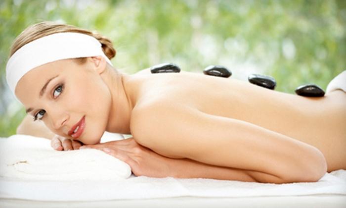 Strands Salon & Spa - Winston-Salem: 60- or 90-Minute Hot-Stone Massage at Strands Salon & Spa in Winston-Salem (51% Off)