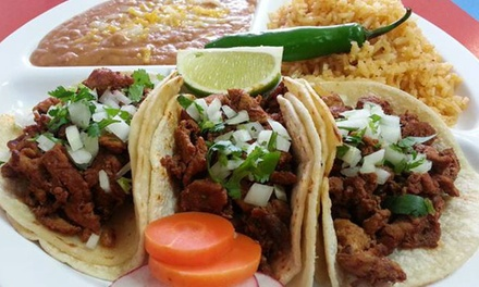 Mexican Food for Two or Four at Royal Taco (50% Off)