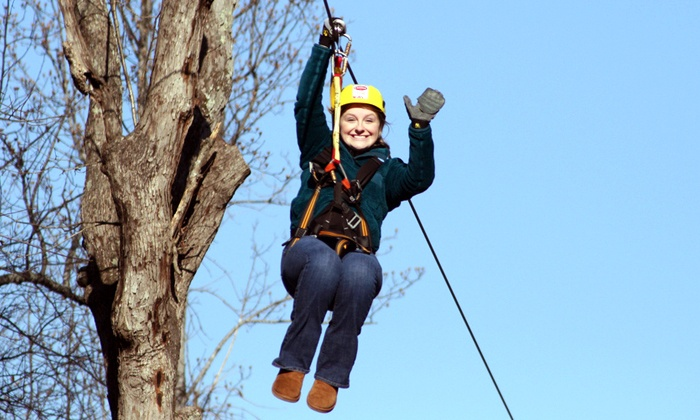 White River Zip Lines - Adams: Three-Hour Zipline Tour at White River Zip Line (Up to 46% Off). Two Options Available.