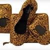 $15 for Leopard-Print Foldable Flats