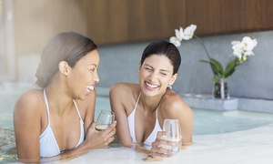 Lakeside: Spa Day with Lunch and a Glass of Prosecco each for One or Two at Lakeside (Up to 48% Off)