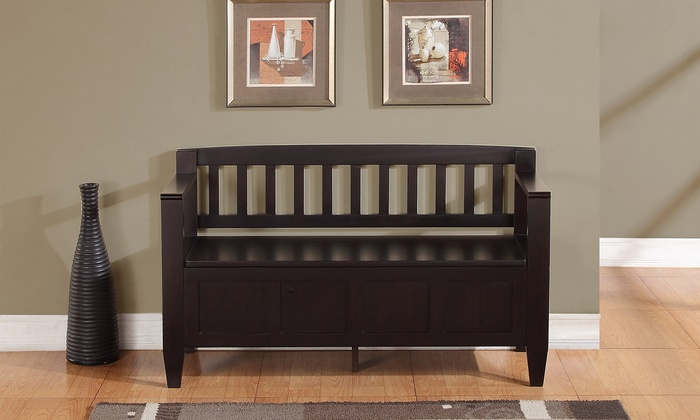 Strange Brooklyn Entryway Storage Bench Gmtry Best Dining Table And Chair Ideas Images Gmtryco