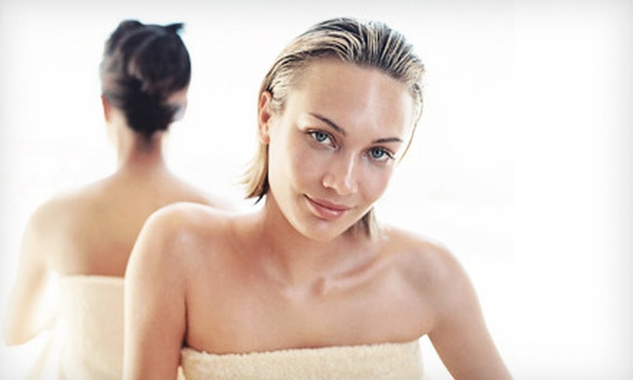 Bella Mia West Salon & Spa - Brecksville: Mani-Pedi, Facial, or 60-Minute Aromatherapy Massage with Optional Facial at Bella Mia West Salon & Spa (Up to 55% Off)