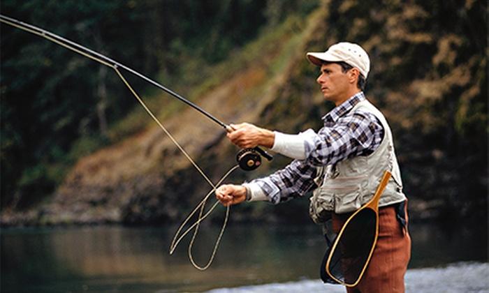 Chad Smith Guide Service - Eatonton: $162 for a Half-Day Catfish Fishing Trip from Chad Smith Guide Service ($325 Value)