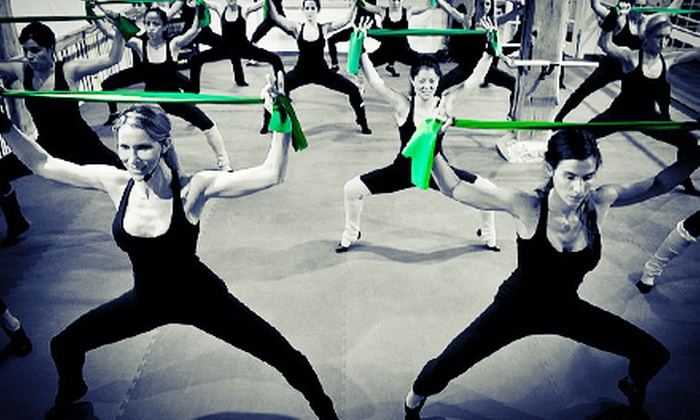 Barre Bee Fit - Fishers: Five or Eight Barre Classes at Barre Bee Fit (Up to 52% Off)