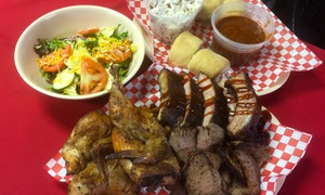 Buckboard BBQ: $25 for a Barbecue Family Pack for Four at Buckboard BBQ ($50 Value)