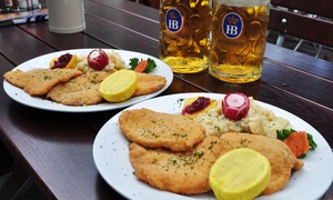 Hofbräuhaus St. Petersburg: $13 for $25 Worth of German Food and Beer at Hofbräuhaus St. Petersburg