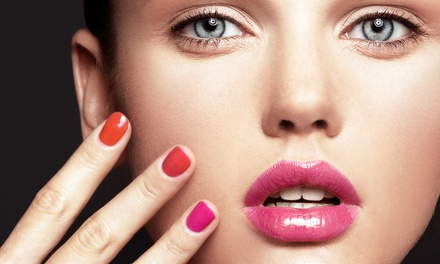Regular or No-Chip Manicure and Spa Pedicure at Beauty Concepts (Up to 56% Off)