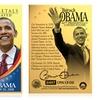 President Barack Obama 24K-Gold-Plated Metal Collectors Card