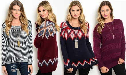 Women's Fall Sweaters