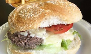K LaMay's Steamed Cheeseburgers: Steamed Burgers, Sandwiches, and Sides for Two or Four at K LaMay's Steamed Cheeseburgers (40% Off)