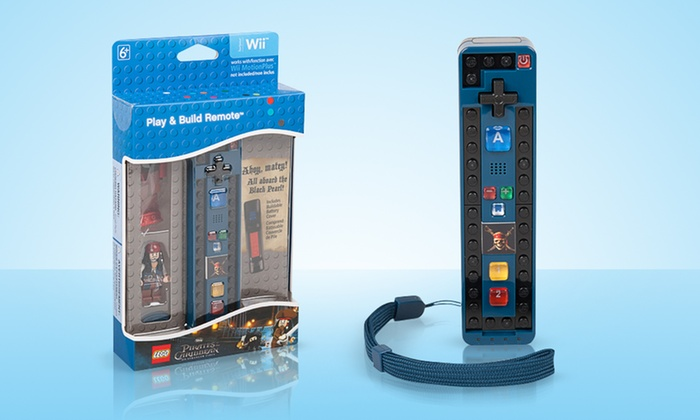 Lego Pirates Of The Caribbean Wii Remote Groupon