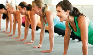 Totally Fit: One Month of Boot-Camp Sessions for One or Two at Totally Fit (Up to 75% Off)