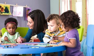 Bright Beginnings Childcare Center: $472 for a One-Month, Daily Child-Development Program at Bright Beginnings Childcare Center (Up to $900 Value)