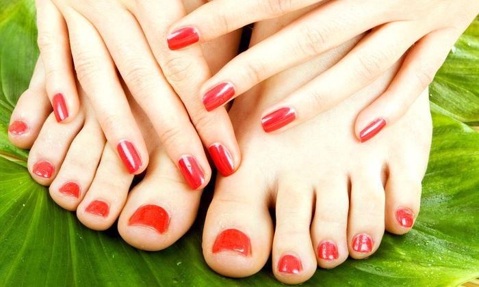 Fountain of Youth Academy of Cosmetology - Student Salon & Spa: One or Three Spa Manicures and Pedicures at Fountain of Youth Academy of Cosmetology (Up to 67% Off)