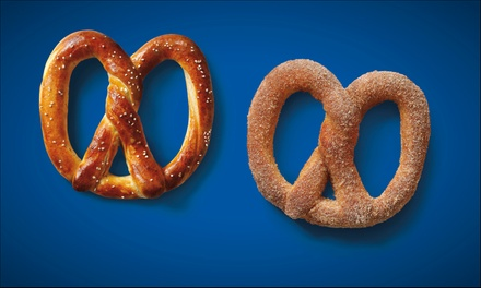 $7 for Four Soft Pretzels at Auntie Anne's ($13.16 Value)