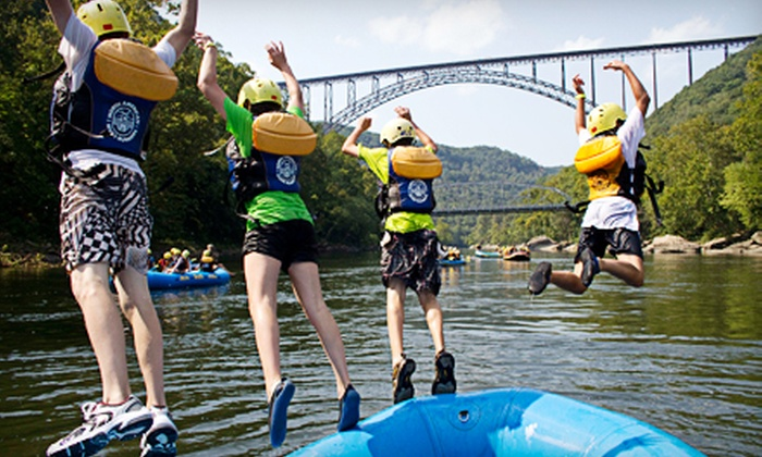 Ace Adventure Resort - Minden, WV: $69 for a Whitewater-Rafting Trip with Two Nights of Camping and Grilled Lunch from Ace Adventure Resort ($145 Value)