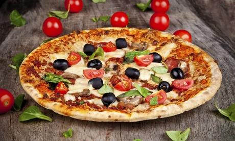 Menú para 2 o 4 con entrante, pizza, postre y botella de lambrusco desde 17,90€ en Restaurant Brasseria L´Eclipsse