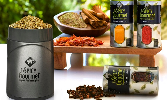 The Spicy Gourmet: $15 for $30 Worth of Certified Organic Fair-Trade Spice Blends from The Spicy Gourmet
