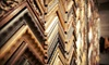 Up to 55% Off Custom Framing Services at Underglass Framing