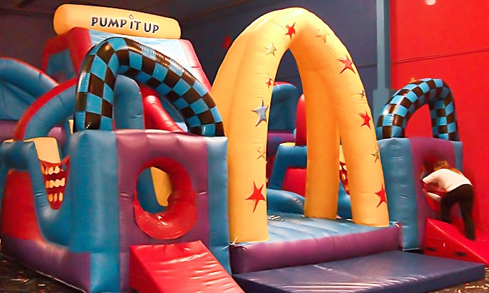 Pump It Up & Pump It Up Jr - Multiple Locations: 5 or 10 Play Visits at Pump It Up or Pump It Up Junior (Up to 57% Off)