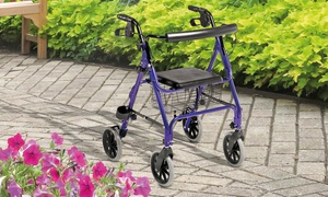 Four-Wheel Aluminium Walker