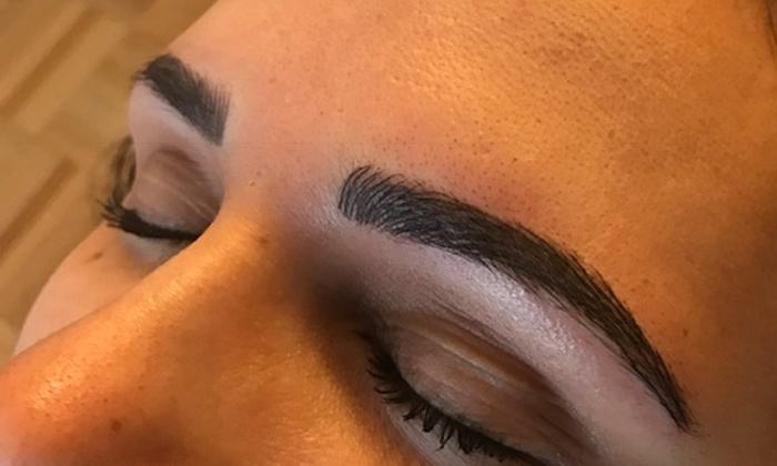 97859e9a190 One Microblading Initial Visit - Brows By Jessica Mena at NEB | Groupon