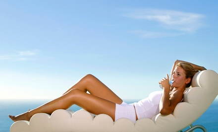One or Three Norvell Airbrush Tans at Create A New Body Spa (Up to 57% Off)