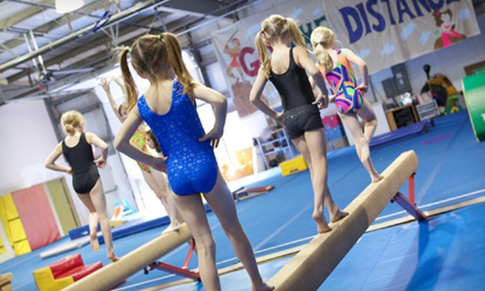 Cary Gymnastics & Dance Center - Cary: Four, Six, or Eight Kids' Gymnastics Classes or Batting-Tunnel Rental at Cary Gymnastics & Dance Center (Up to 61% Off)