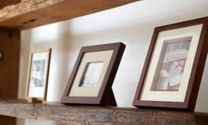 The Collectors Wall Fine Art Gallery: $31 for $125 Worth of Custom Framing at The Collectors Wall Fine Art Gallery