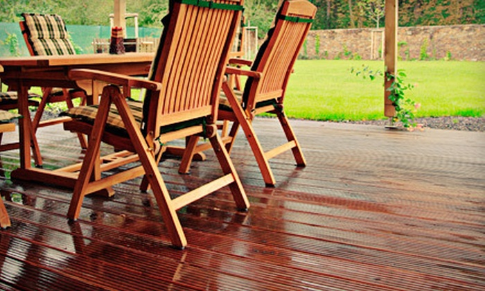 Pure Pressure Services - Charlotte: Cleaning with Seal or Stain for a Small, Medium, or Large Deck from Pure Pressure Services (Up to 58% Off)