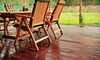 Pure Pressure Services: Cleaning with Seal or Stain for a Small, Medium, or Large Deck from Pure Pressure Services (Up to 58% Off)