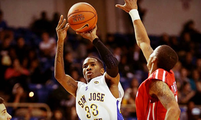 San Jose State Men's Basketball - Downtown San Jose: San Jose State Men's Basketball Game on January 24 or 26 or February 16 at The Event Center (Up to 55% Off)