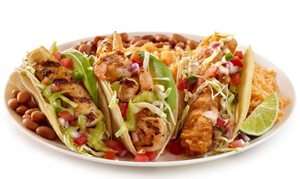 Baja Fresh Mexican Grill - Folsom: Mexican Meal for 2 or 4, or Fajita Fiesta Platter for 10 at Baja Fresh Mexican Grill - Folsom (Up to 37% Off)