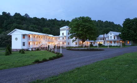1- or 2-Night Stay for Two with Optional Relaxation Package at The Inn at Mountain Quest in Frost, WV