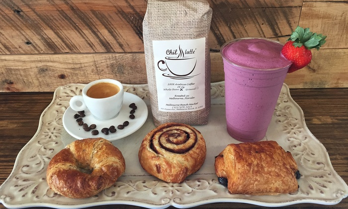 ChilLatte - Chil Latte: $11 for Four Groupons, Each Good for $5 Worth of Coffee and Pastries at ChilLatte ($20 Value)