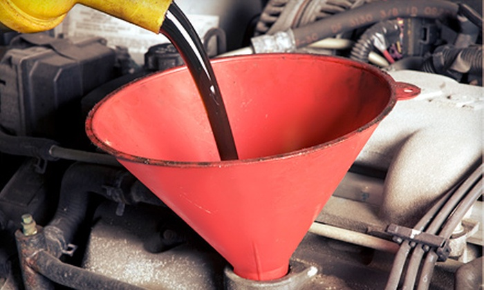 Briarwood Auto Service - Memorial Industrial Park: Oil Change with Optional Tire Rotation and Battery Check, or AC Inspection at Briarwood Auto Service (Up to 68% Off)