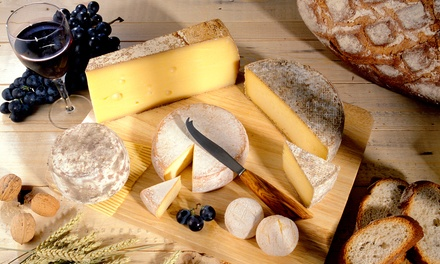 Winery-Tour Package with Cheese Platter for Two or Four at Baker-Bird Winery (Up to 52% Off)