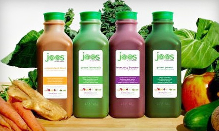 JOOS - Multiple Locations: Three- or Five-Day Organic-Juice Cleanse at Joos (Up to 52% Off)