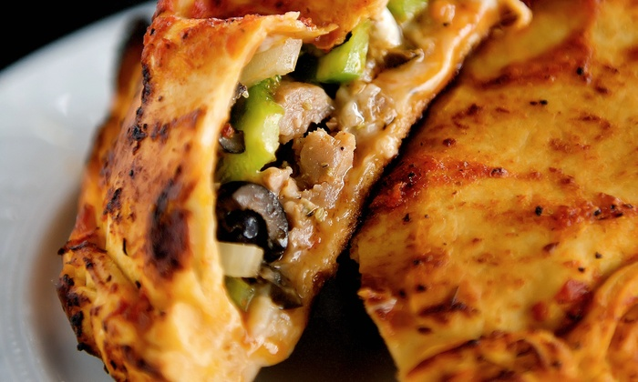Doughby's - Lexington - Pleasant Green Hill: Crepes and Calzones at Doughby's (50% Off). Two Options Available.