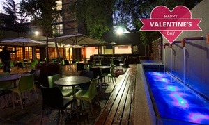 The Pepper Tree Restaurant & Terrace: Valentine's Buffet from R500 for Two at The Pepper Tree Restaurant and Terrace at Hotel 224