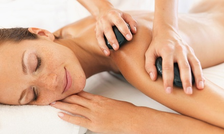 30-Minute Back, Neck and Shoulder or 60-Minute Full-Body Hot Stone Massage at Chakra Bella (Up to 60% Off)