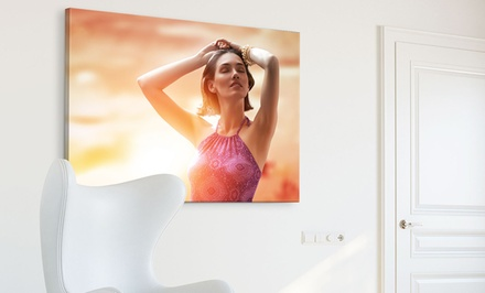 One or Two Printerpix Custom Photo Canvas Available in Multiple Sizes from $14.99-$59.99