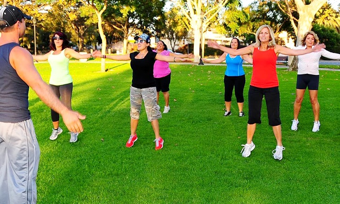 Fitness Foundation Bootcamp - Multiple Locations: 10 or 15 Outdoor Boot-Camp Classes, Plus a Weight-Loss Ebook at Fitness Foundation Bootcamp (Up to 84% Off)