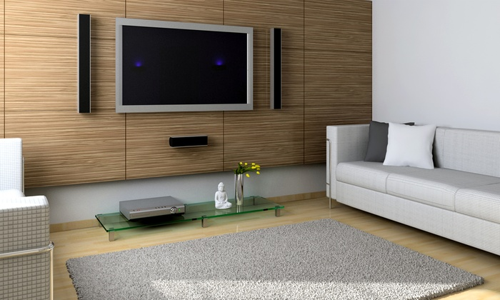 Audio Visual Concepts - Lynchburg: $199 for a Basic TV Wall Installation with Mount Included from Audio Visual Concepts ($450 Value)